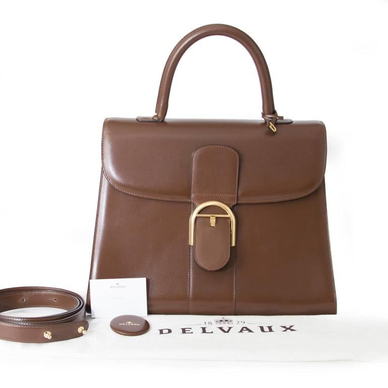 Delvaux Brillant GM Noisette 2