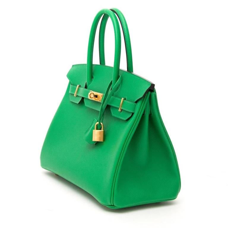 798901a27e7b ... discount code for green brand new hermes birkin 30 bambou epsom for sale  eadb7 d3e67