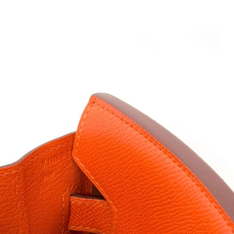 Brand New Hermes Birkin 30 Feu Epsom GHW 1