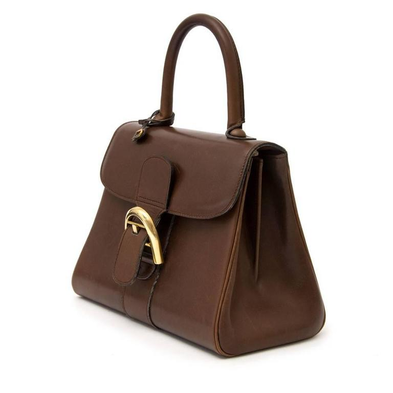 This Classic And Timeless Brillant From Belgium Brand Delvaux Comes In A Beautiful Soft Boxcalf Leather