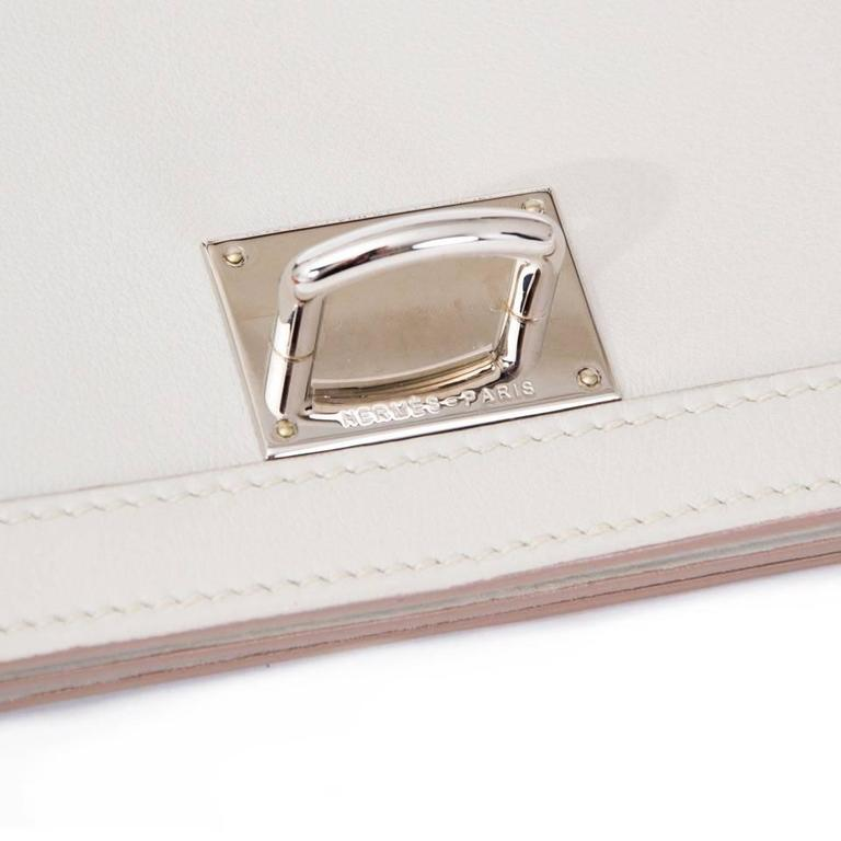 Women's Hermes Chaine D'ancre Gris Perle Swift  For Sale