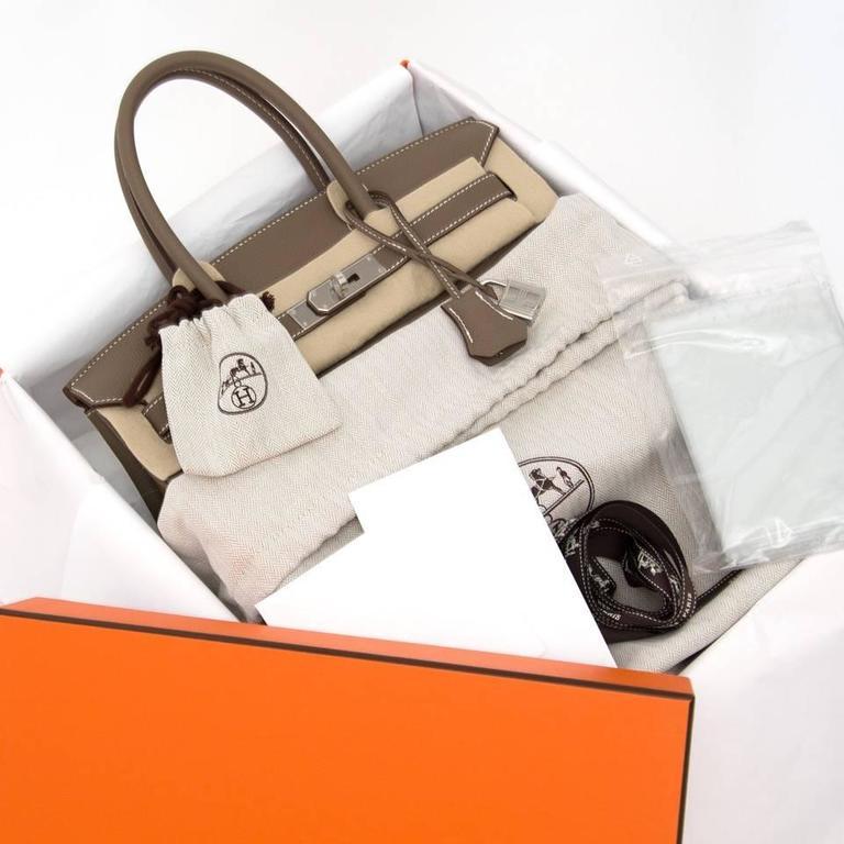 146e3510e101 Store Fresh Hermès Birkin bag in timeless warm grey