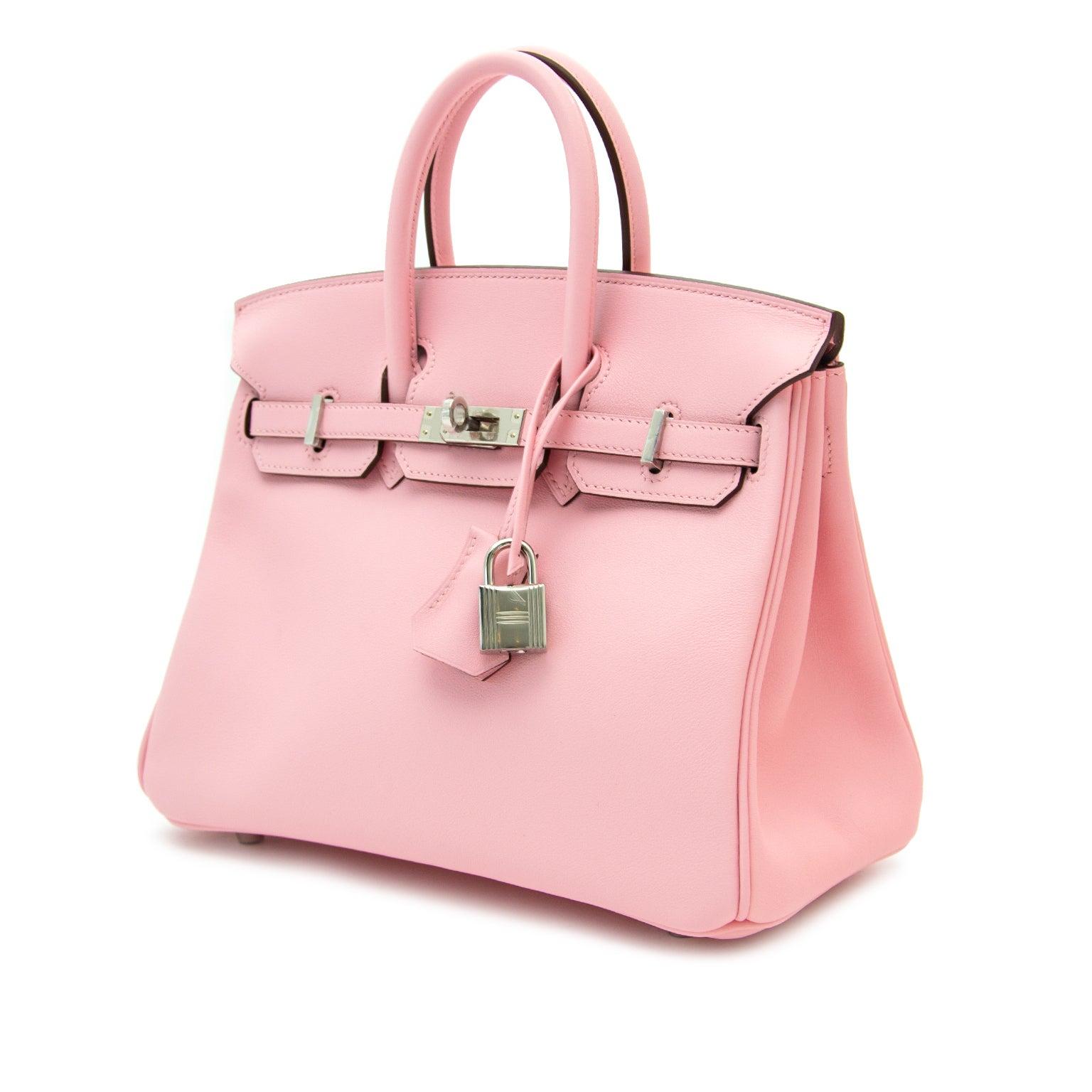 e898b40152 Very RARE and Brand New Hermès Birkin Rose Sakura 25 at 1stdibs