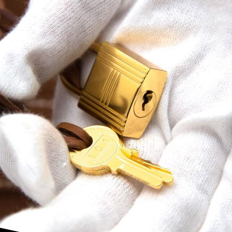 Brand New Hermes Birkin 30 Gold Togo GHW 1