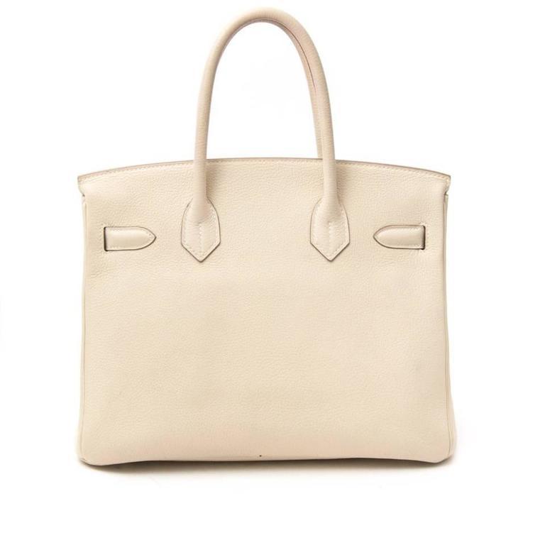 Hermès Birkin 30 Craie Veau Evercalf 5
