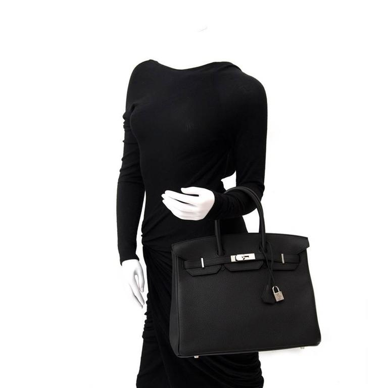 18b72c781d4 Brand New Hermes Birkin Black Togo 35 PHW In New Condition For Sale In  Antwerp