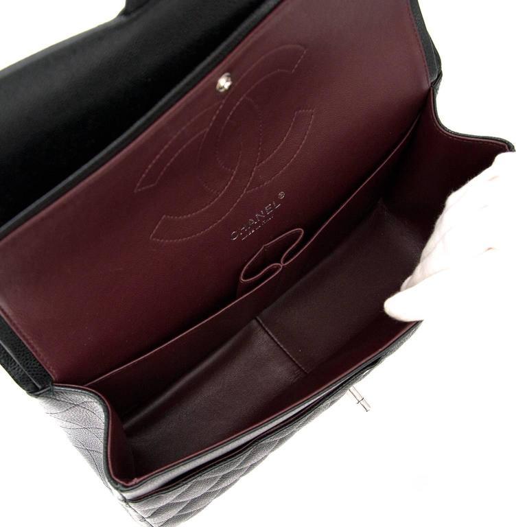 71a55efd21d8 Chanel Jumbo Classic Flap Bag For Sale 4