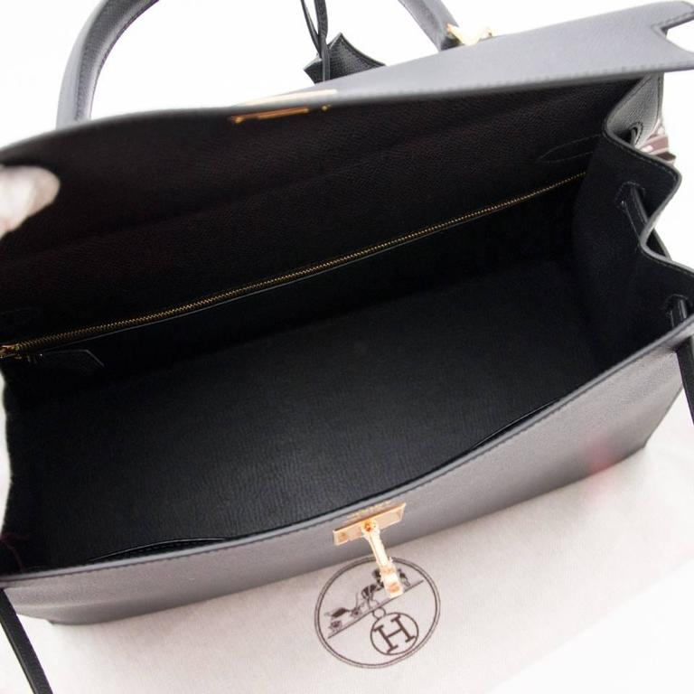 8f5ce137d7ba ... spain brand new black hermes kelly 35 epsom in new condition for sale  in antwerp be