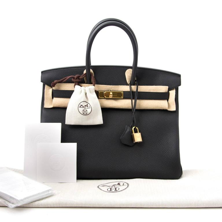 b94cfe56a85 ... czech store fresh hermès birkin 35 in timeless black togo leather and  ghw. togo leather
