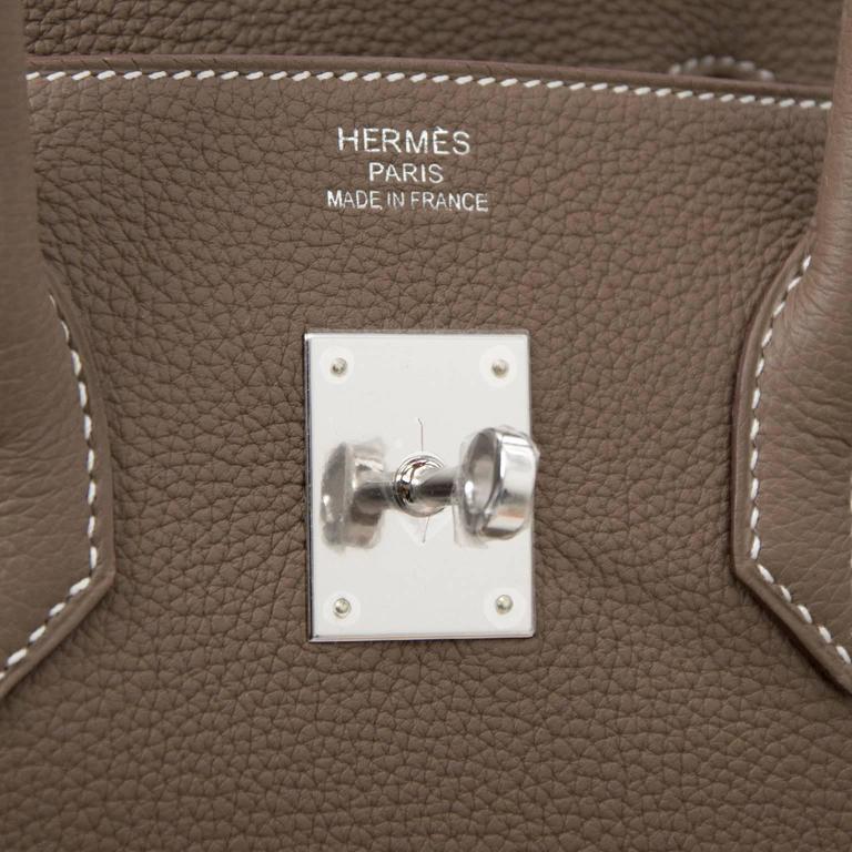 Hermès Birkin 35 Etoupe Togo PHW 10