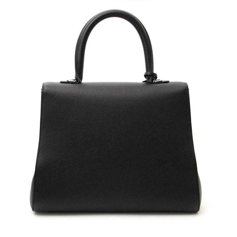 Brand New Delvaux Black Brillant MM PHW + STRAP For Sale 1