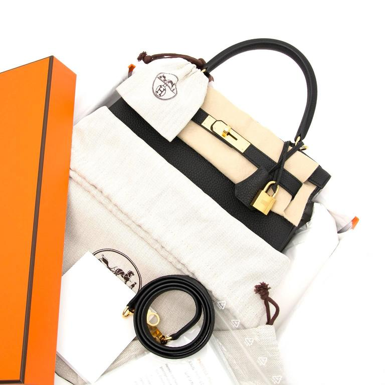 3d667465eb ... usa brand new hermes kelly 28 retourne togo black skip the waiting list  and get your