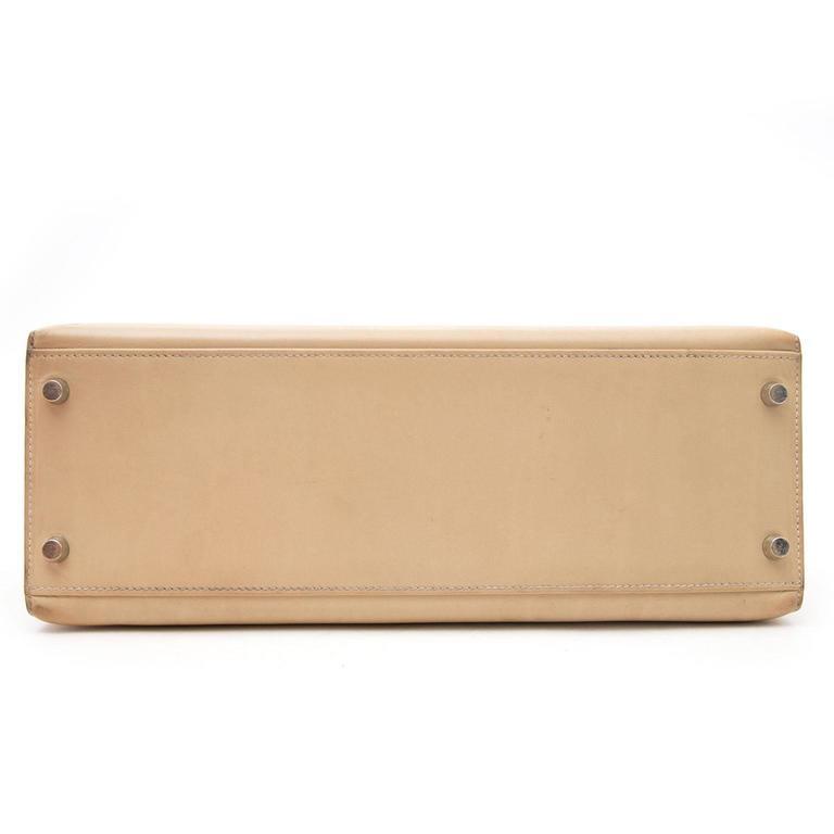 Hermes Kelly 32 Poussiere Box Calf + Strap 1