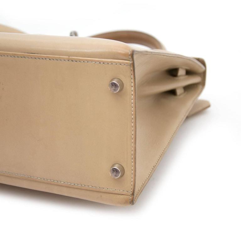 Hermes Kelly 32 Poussiere Box Calf + Strap 2