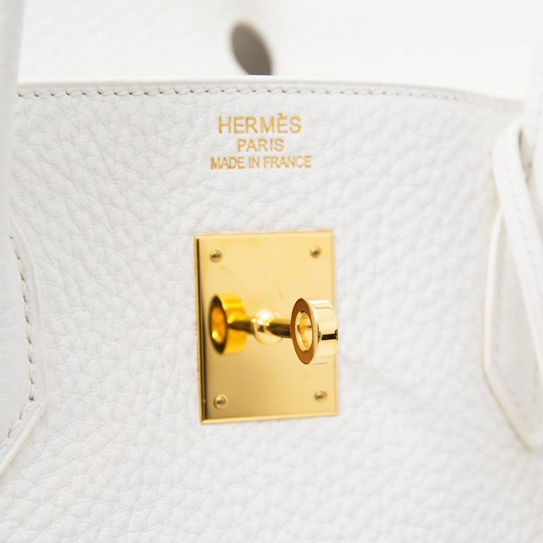 Hermes Birkin 40 Clemence Taurillon GHW For Sale 1