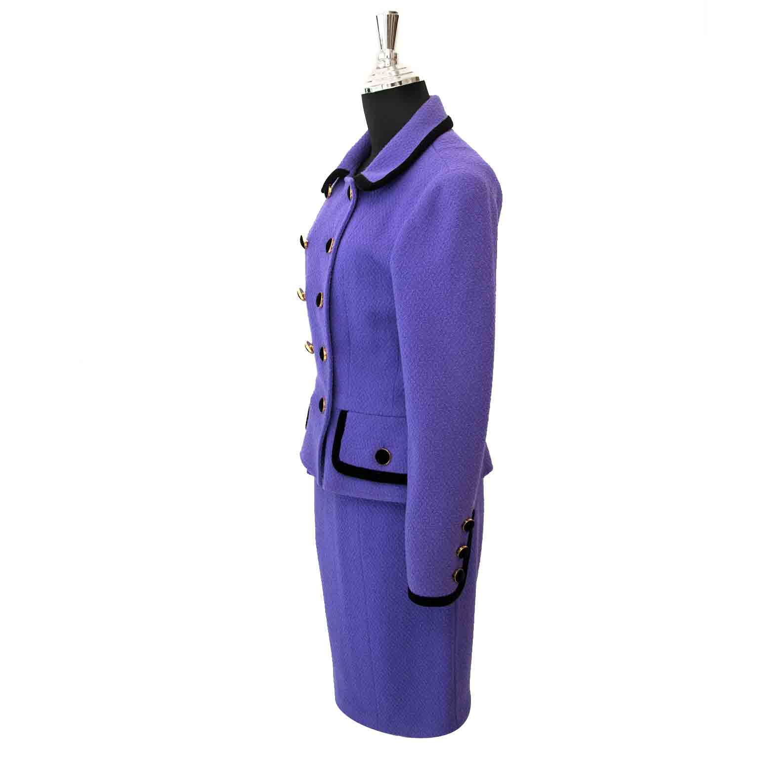 release date 91156 0fd57 Chanel Purple Tailleur Set