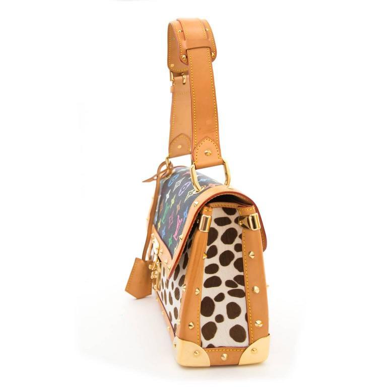 Louis Vuitton Dalmatian Sac Rabat Pony Hair Monogram Bag 3