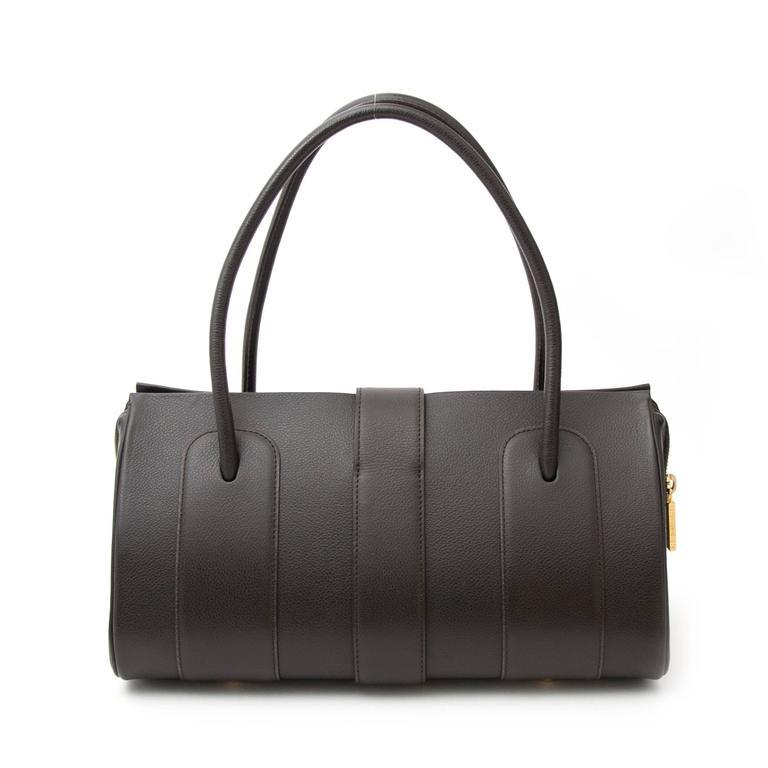 Delvaux Brown George Bag  3
