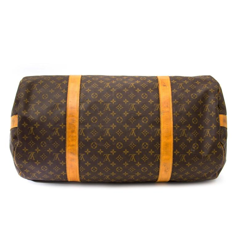 Louis Vuitton Monogram Polochon Travel Bag 4