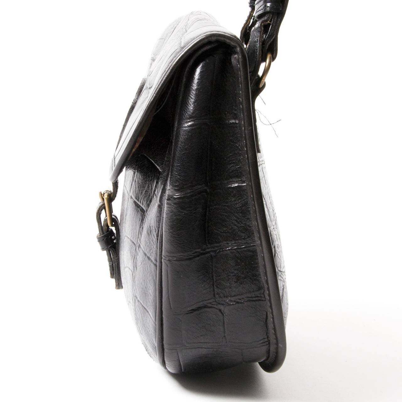 Mulberry Congo Leather Shoulder Saddle Bag at 1stdibs 0d0cda9aa8ddc