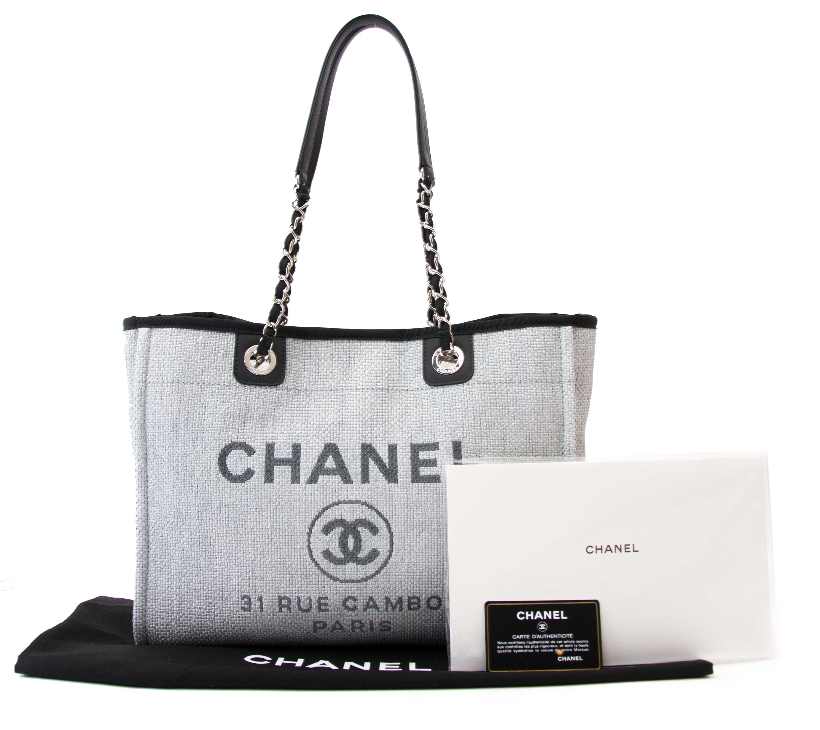 e7dba2208330 Chanel Deauville 31 Rue Cambon Tote Bag at 1stdibs
