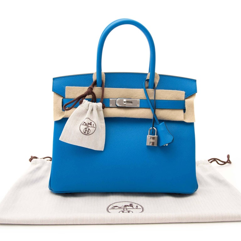 Never Used Hermes Birkin 30 Bleu Zanzibar Epson For Sale at 1stdibs 0611665ff