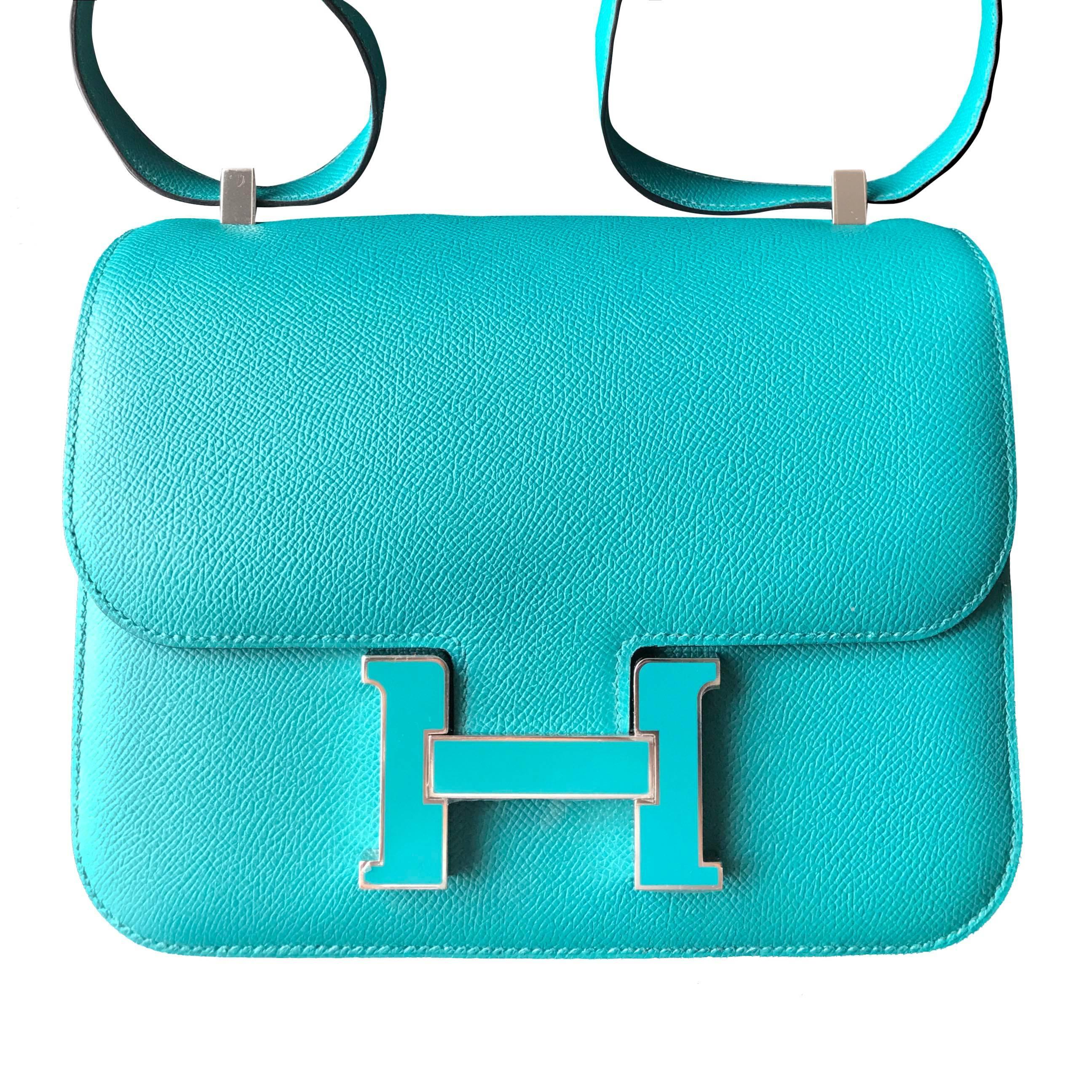 Hermès Hermes Evelyne Bleu Paon Veau Epsom Shoulder Bag Excellent Dérivatif Vente Magasin D'usine Livraison Gratuite À Partir De France Manchester Pas Cher hKIpSz
