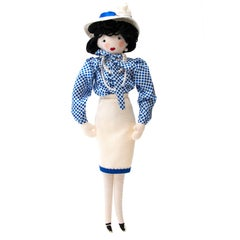 Super Rare Chanel Doll Designed By Karl Lagerfeld For Pop-Up Shop Colette