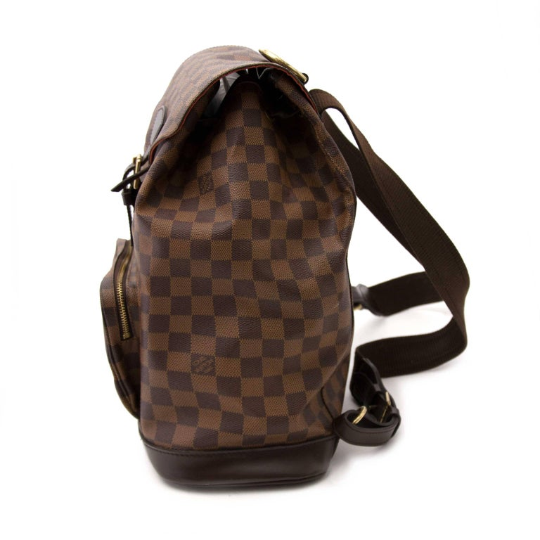 07e46794956c Louis Vuitton Damier Ebene Montsouris MM Backpack Bag In Excellent  Condition For Sale In Antwerp