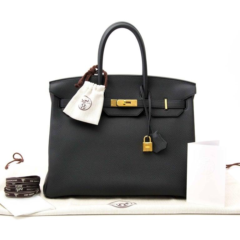 Hermès Birkin 35 Togo Plomb GHW 2