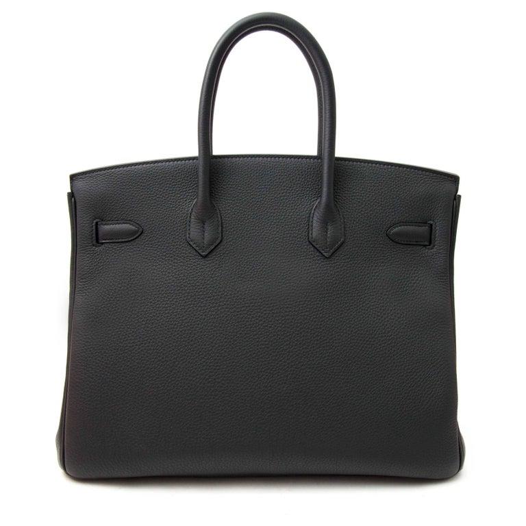 Hermès Birkin 35 Togo Plomb GHW 3