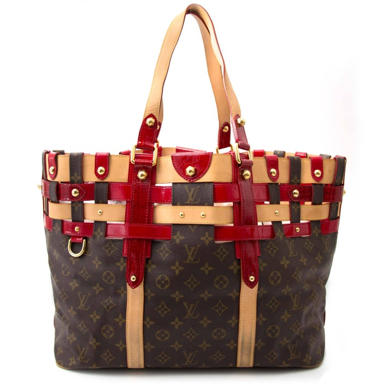 f9b6e103d7 Limited Edition Louis Vuitton monogram Rubis Salina tote bag in GM. The  exclusive tote features