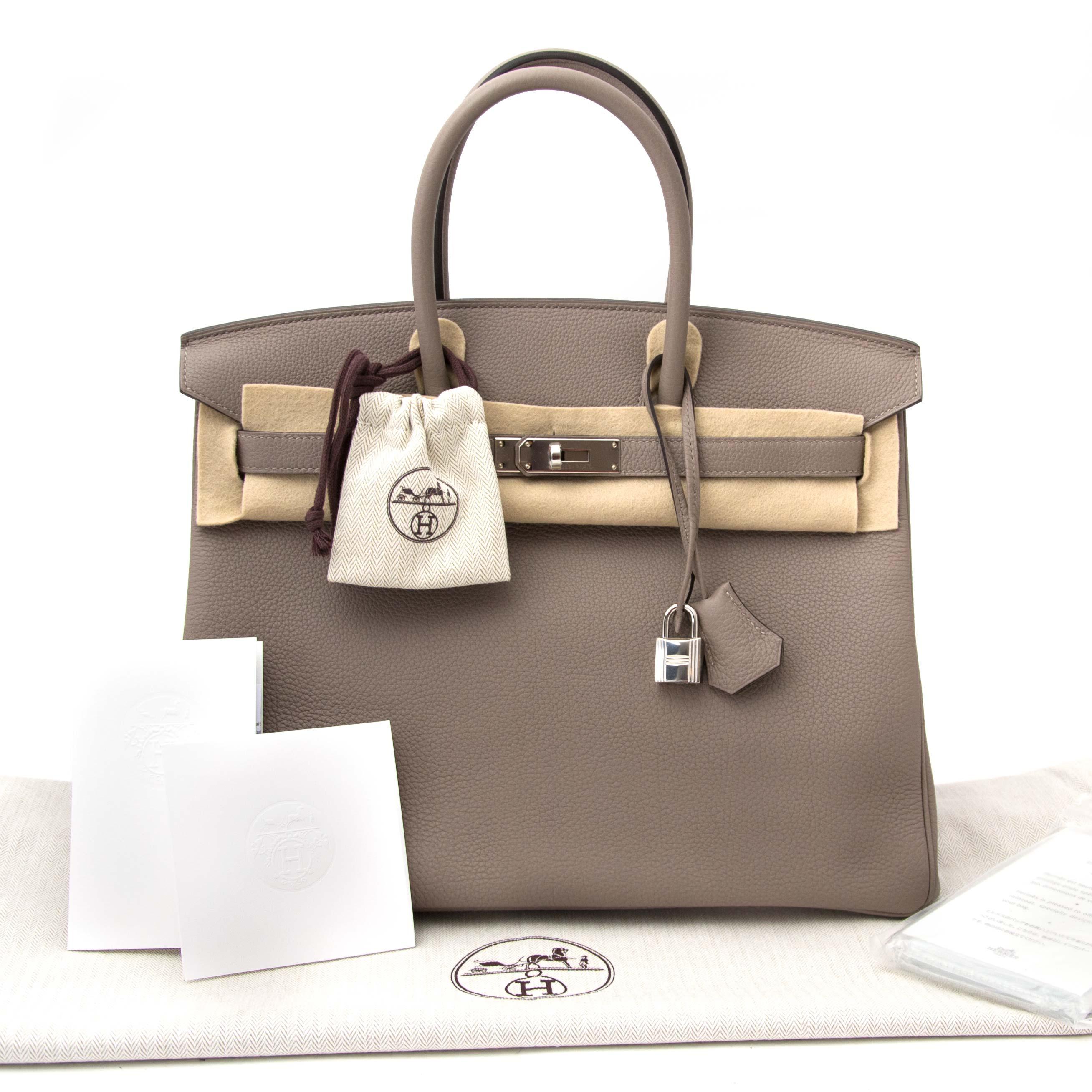 411dd13c0806 Hermès Birkin 35 Togo Gris Asphalte PHW For Sale at 1stdibs