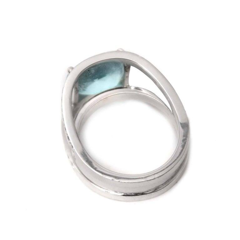 White Ring Round Iris