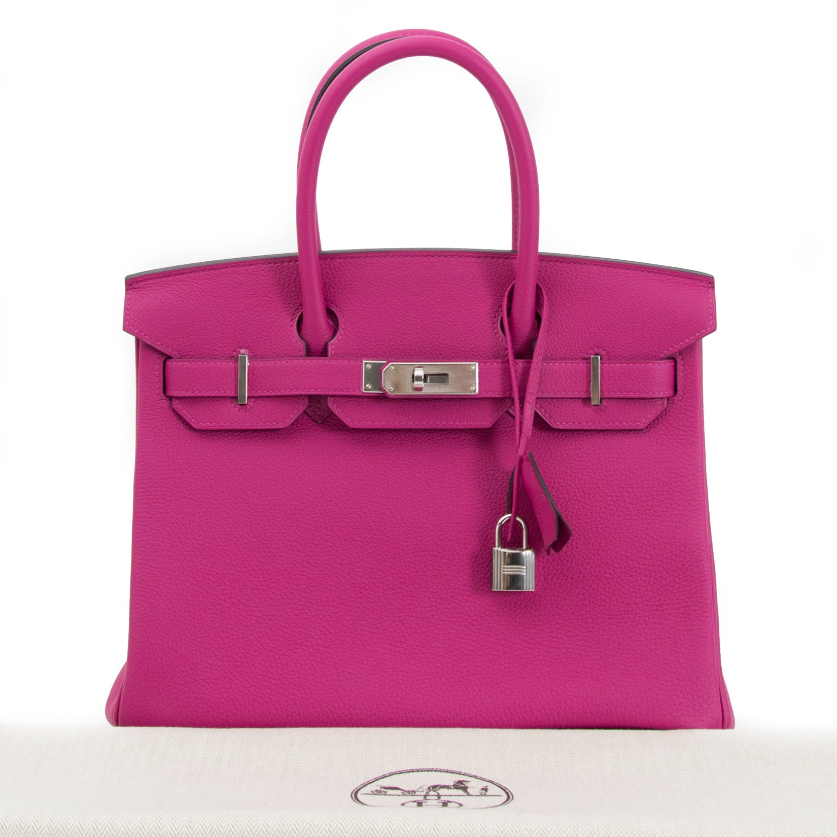 5ae2cee4308d Hermès Birkin 30 Togo Rose Pourpre PHW For Sale at 1stdibs