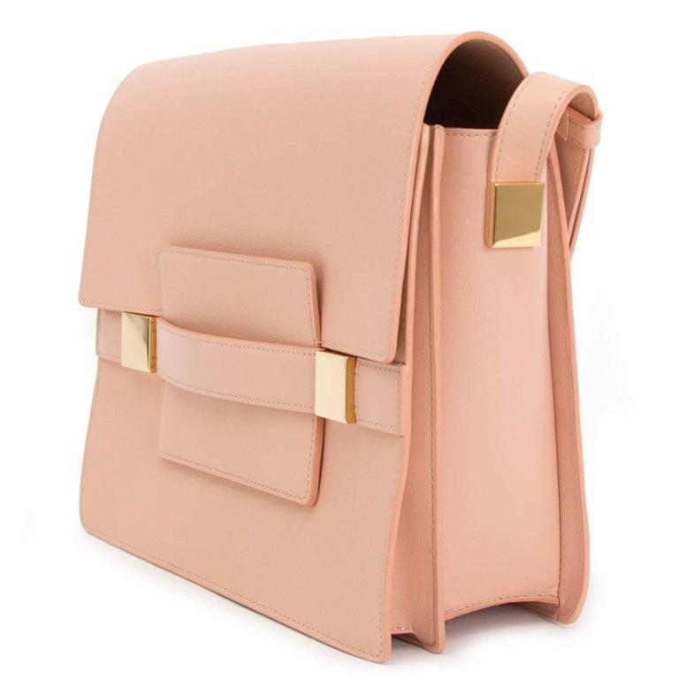 Delvaux Madame GM Rose Polo Shoulder Bag  2