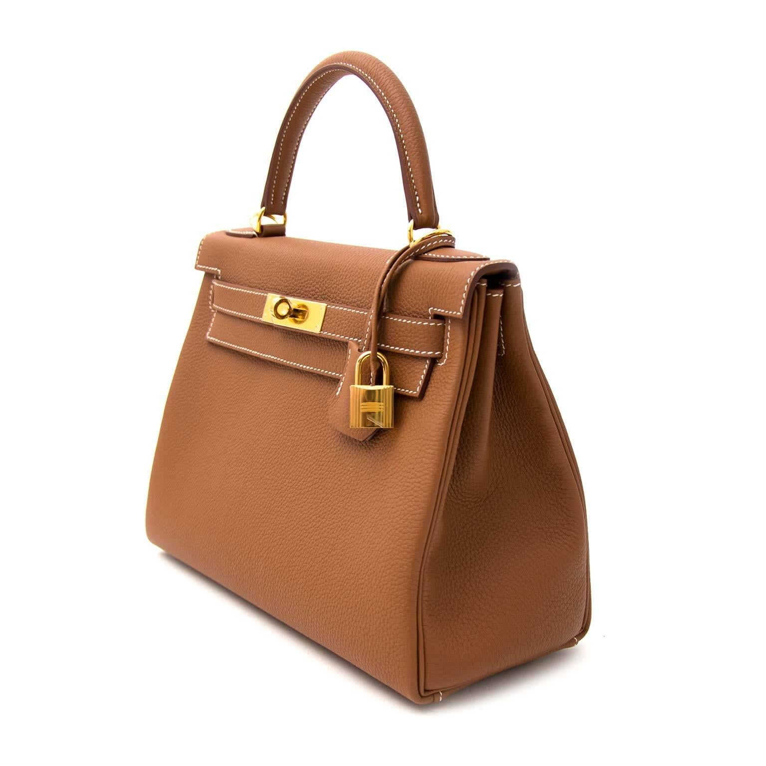 509b98bbb0a ... coupon hermès kelly 28 togo gold ghw for sale 1 0c845 85951 ...