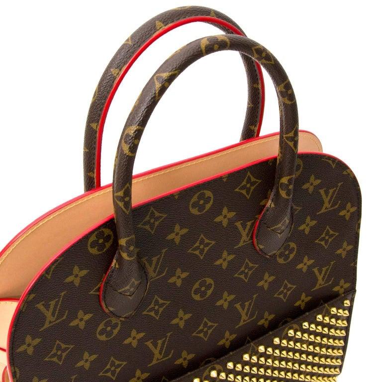 e3b100d9863 Louis Vuitton Christian Louboutin Limited Edition Shopper bag