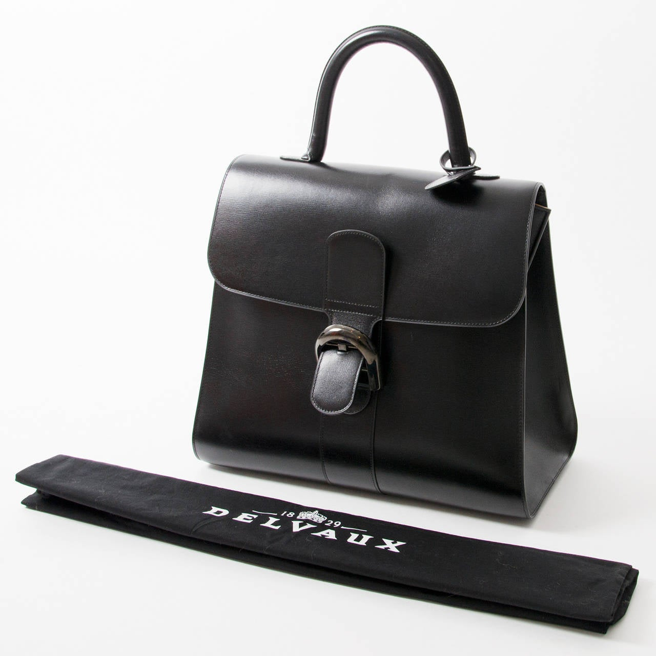 Delvaux Brillant Black Edition GM+B In Excellent Condition For Sale In Antwerp, BE