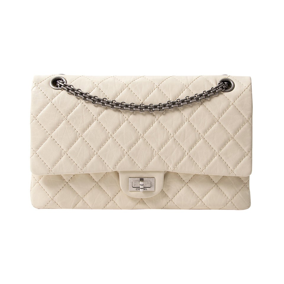 Chanel Snow White 2.55 Reissue For Sale