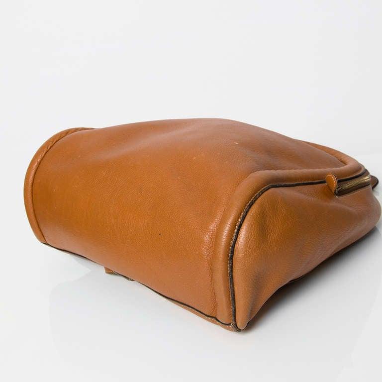 Delvaux Cognac Backpack 4