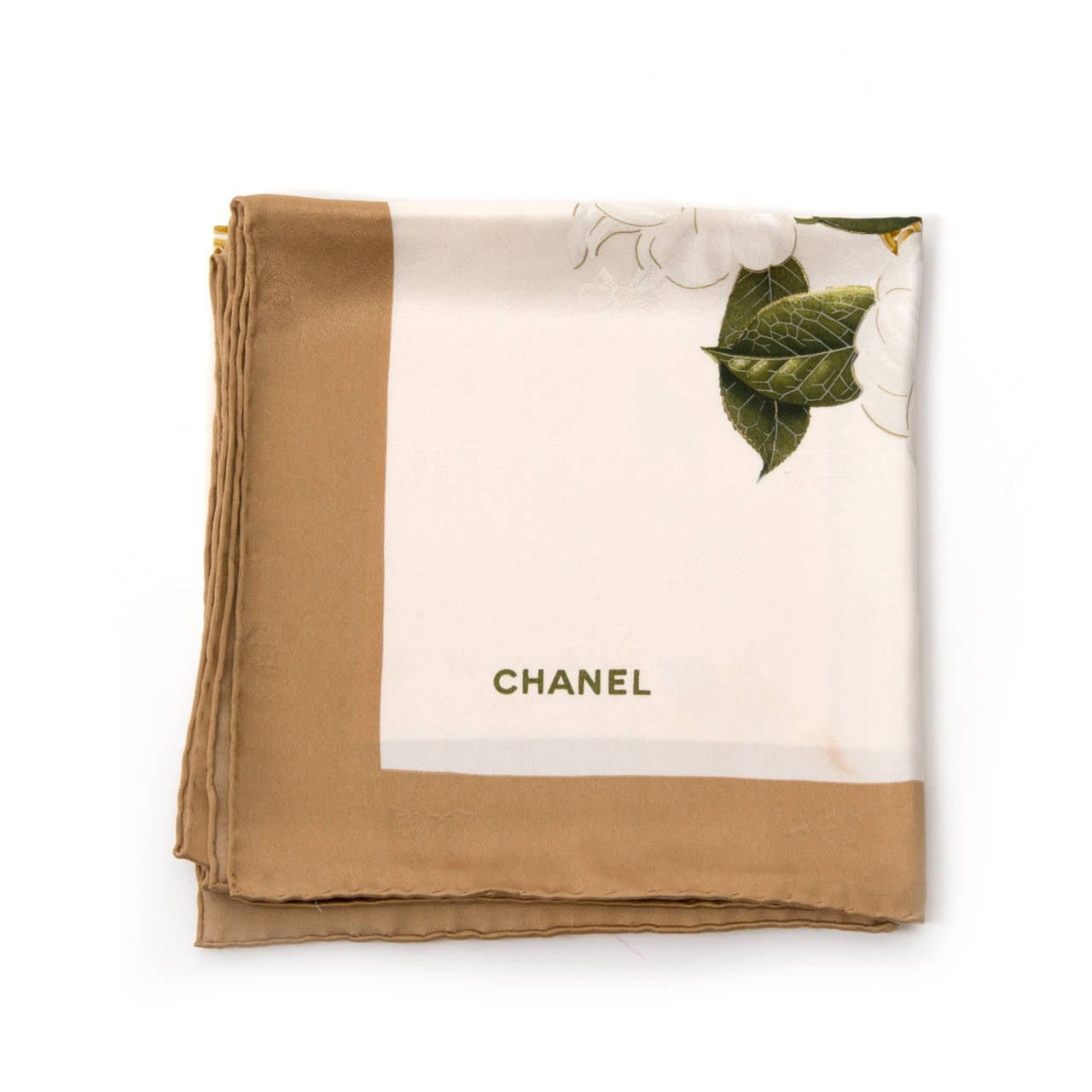 Chanel Floral Scarf 3