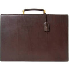 Delvaux Brown Briefcase