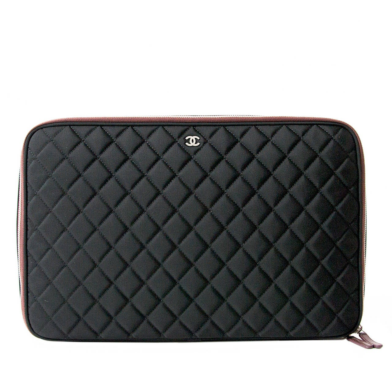 Chanel Limited Quilted Laptop Case at 1stdibs
