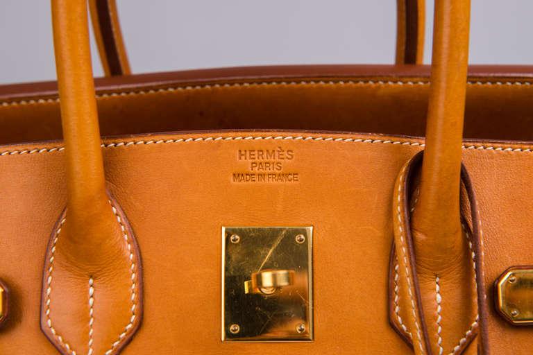 Hermès Birkin 35 Denim Canvas For Sale 2