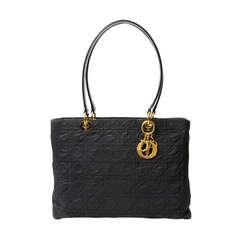 Christian Dior Black Nylon Shoulder Bag