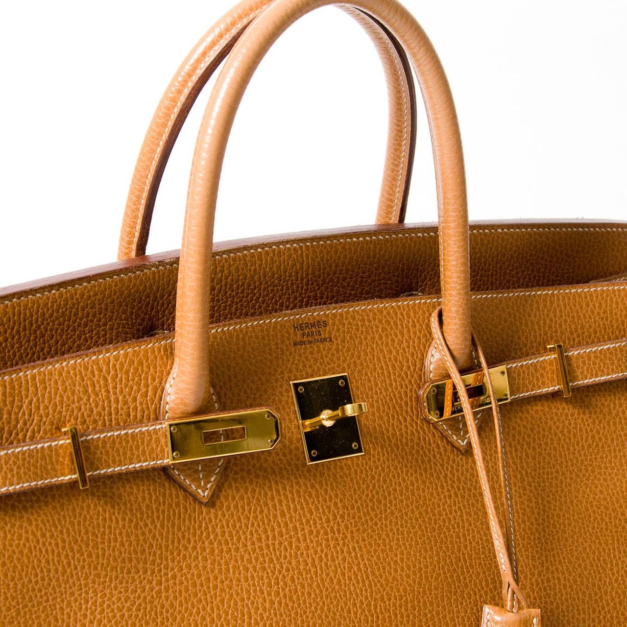 hermes leather wallet - hermes birkin 40 gold good condition
