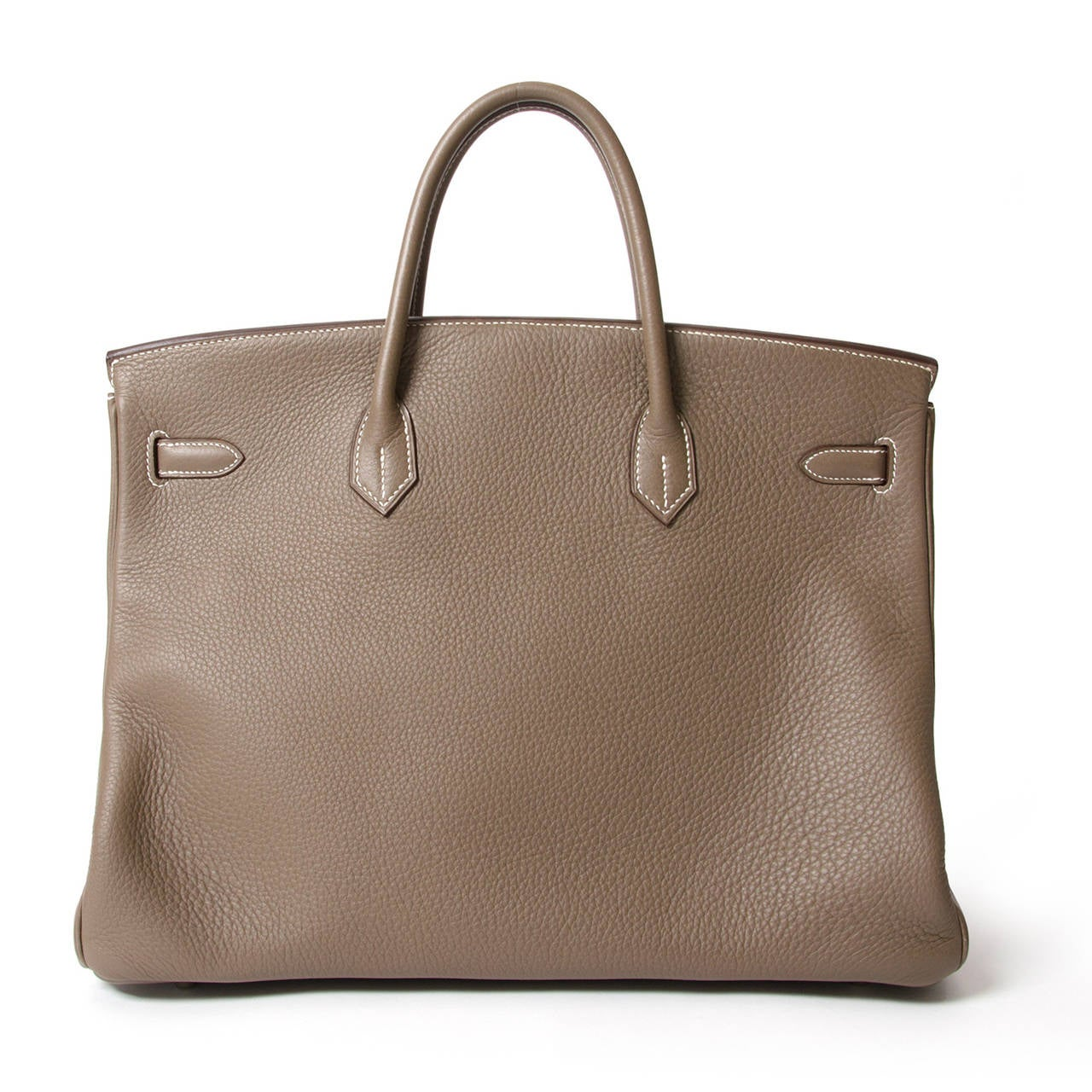 Hermès Birkin Bag 40cm Togo Etoupe Grey PHW 2