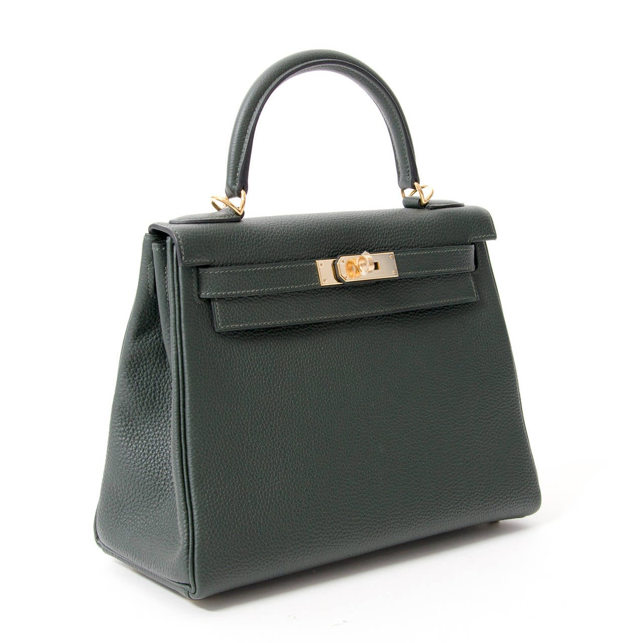 birkin bag buy - BRAND NEW Herm��s Kelly Bag 28 Togo Vert Fonce GHW With Shoulder ...