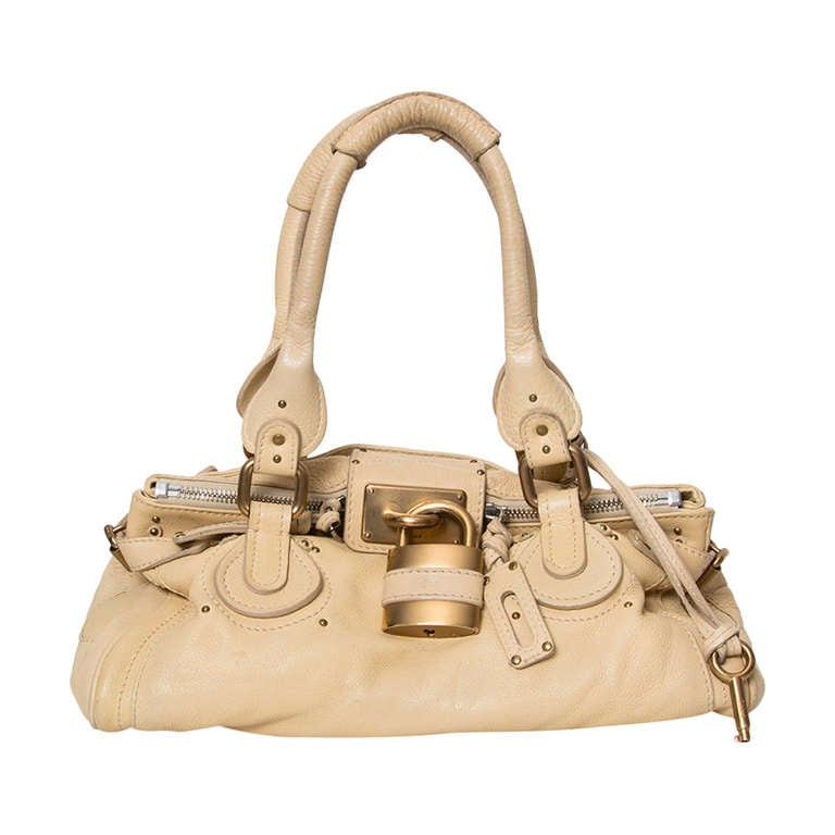Chloé Nude Paddington Satchel Shoulder Bag at 1stdibs d076f6691d901